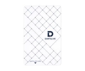 ゲームカード【ダーツライブ】#043 スクエアパターン ホワイト