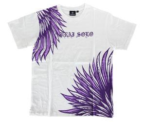 アパレル【シェード】SAMURAI SOLO Tシャツ 小野恵太モデル ホワイト XS