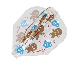 フライト【8フライト】クリスマス フライト シェイプ MIXクリア