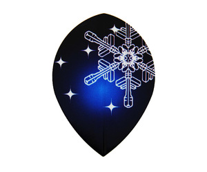 フライト【エスフォー】雪の結晶 ティアドロップ