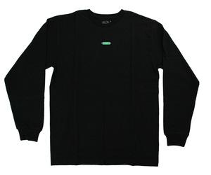 アパレル【コスモダーツ】フルーツオブザルームxコスモダーツ ロングスリーブシャツ ボックスロゴ ブラック XL