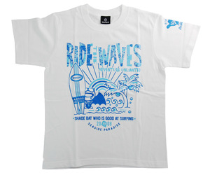 アパレル【シェード】SHADEBAT サマー Tシャツ 2020 ホワイト L