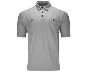 アパレル【ターゲット】フレックスラインシャツ ライトグレー L 151002