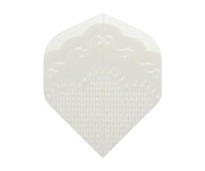 ダーツフライト【アールエックス】姫レースフライト(ホワイト)