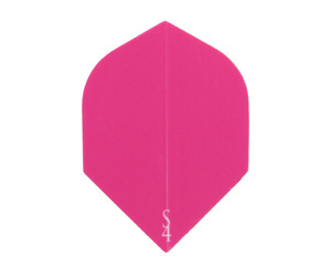 ダーツフライト【エスフォー】Sライン ロケットフライト(ピーチピンク)