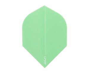 ダーツフライト【エスフォー】Sライン ロケットフライト(ミントグリーン)