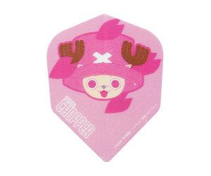 ダーツフライト【ファーイースト】ワンピース FACEチョッパー/ピンク×ブラック