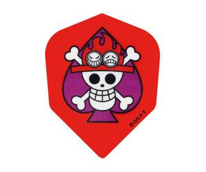 ダーツフライト【ファーイースト】ワンピース 海賊旗エース シェイプ