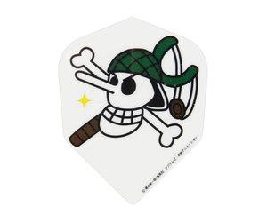 ダーツフライト【ファーイースト】ワンピース 海賊旗ウソップ/イエロー