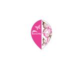 ダーツフライト【プロ】インディーズシリーズ バタフライ ピンク