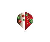 ダーツフライト【プロ】インディーズシリーズ フロントクリスマスカラー