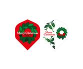 ダーツフライト【プロ】インディーズシリーズ クリスマス リース
