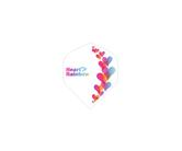 ダーツフライト【プロ】インディーズシリーズ Heart Rainbow