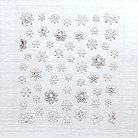 ダーツカスタムシール 雪の結晶 HA-21