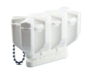 ダーツフライトケース【コスモダーツ】フィットフライト専用ケース 2.5AIR ホワイト