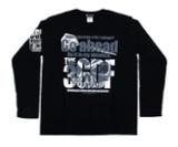 ダーツアパレル【3GGC】MT-12(Just throw it ブラック) ロングスリーブTシャツ