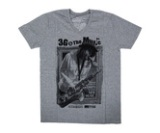 ダーツアパレル【3GGC】SAX GMS-06 メランジグレー VネックTシャツ