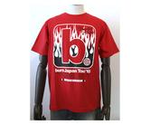 ダーツアパレル【burn×3G】Fire サイズS (レッド) Tシャツ