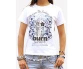 ダーツアパレル【burn.×3G】burn.ジャパンツアー2011 Tシャツ ホワイト