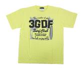 ダーツアパレル【3GGC】GA-07(3GGC Surf Club ライトイエロー) シャツ