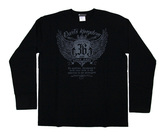ダーツアパレル【3GGC】GA-18(Darts kingdom ブラック) ロングシャツ