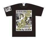 ダーツアパレル【3GGC】 (MONOTONE PICTURE ブラック) シャツ