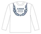 ダーツアパレル【3GGC】 (TRIBALS SURF ホワイト) ロングシャツ