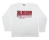 ダーツアパレル【3GGC】 (3G POWER ホワイト) ロングシャツ