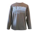 ダーツアパレル【3GGC】 (3G POWER チャコール) ロングシャツ