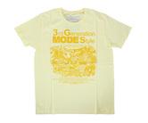 ダーツアパレル【3GGC】3GMS GMS-03 シャーベットイエロー Tシャツ