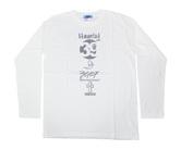 ダーツアパレル【3GGC】Haunted GBS-06 ホワイト ロングスリーブTシャツ