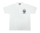ダーツアパレル【3GGC×エスダーツ】 スカル (ホワイト×グレー) シャツ